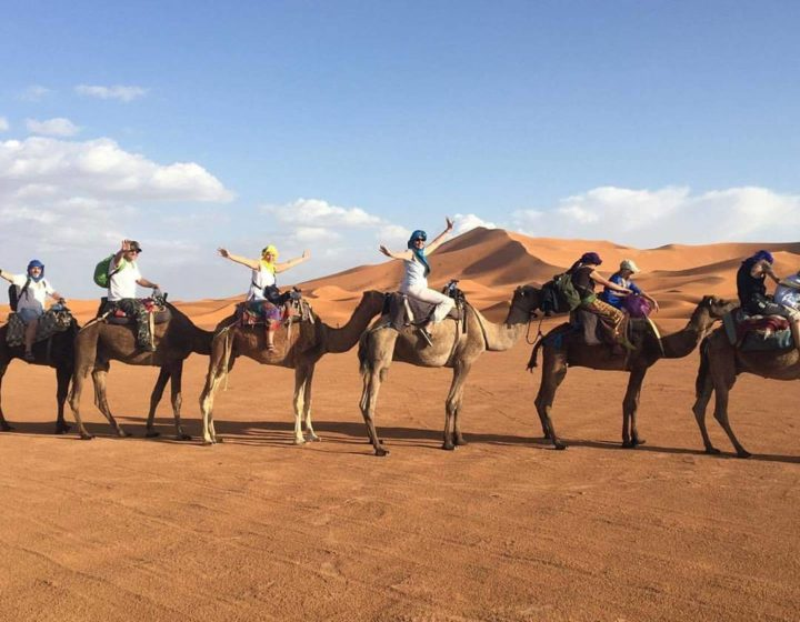 7 DAYS TOUR FROM TANGIER TO MARRAKECH VIA DESERT.