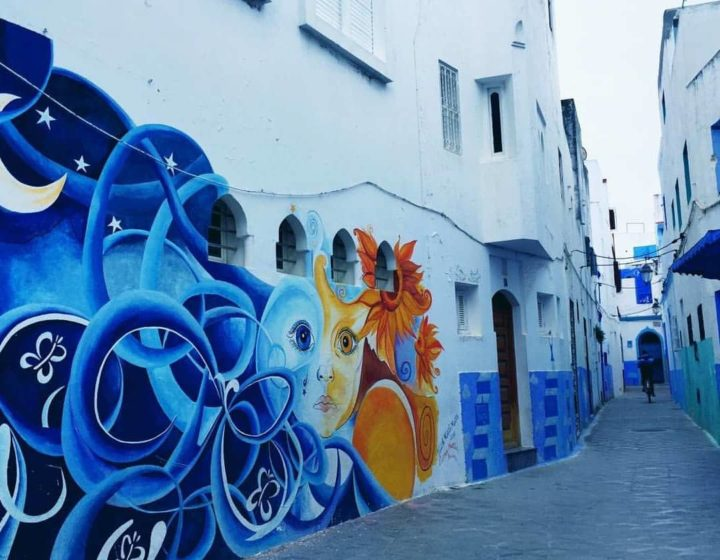 Viagem de Tânger 4 dias (Rabat-Volubilis-Fes-Chefchaouen)